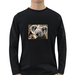 Koala Mens' Long Sleeve T Shirt (dark Colored)