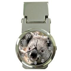 Koala Money Clip with Watch