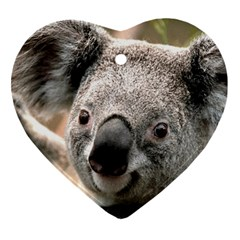 Koala Heart Ornament (two Sides)