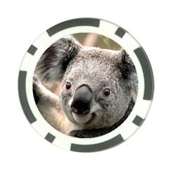 Koala Poker Chip