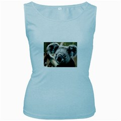 Koala Womens  Tank Top (Baby Blue)