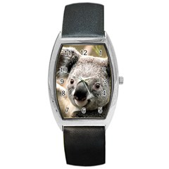 Koala Tonneau Leather Watch