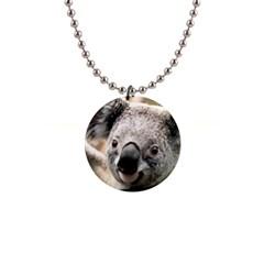 Koala Button Necklace