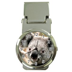 Koala Money Clip with Watch