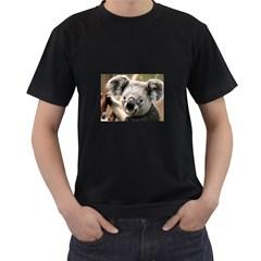 Koala Mens' T-shirt (Black)