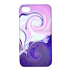 L135 Apple Iphone 4/4s Hardshell Case With Stand