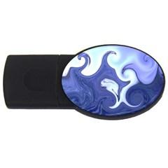 L139 2GB USB Flash Drive (Oval)