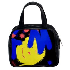 Funky Explosion Classic Handbag (Two Sides)