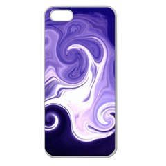 L152 Apple Seamless Iphone 5 Case (clear)