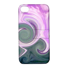 L155 Apple Iphone 4/4s Hardshell Case With Stand