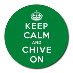 Kcco 8  Mouse Pad (round)