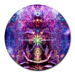 Bliss music 8  Mouse Pad (Round)