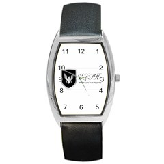 Wlth2jpeg Tonneau Leather Watch