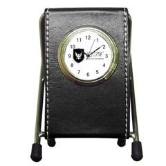 Wlth2jpeg Stationery Holder Clock