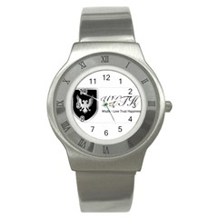 Wlth2jpeg Stainless Steel Watch (unisex)