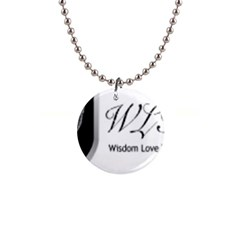 Wlth2jpeg Button Necklace