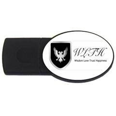 Wlth2jpeg 4GB USB Flash Drive (Oval)