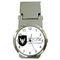Wlth2jpeg Money Clip With Watch