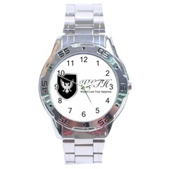 Wlth2jpeg Stainless Steel Watch (Men s)