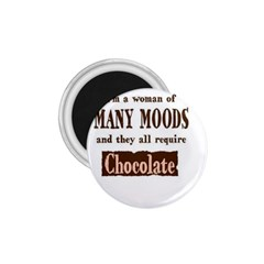 Choclate 1 75  Button Magnet