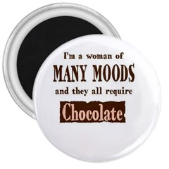 Choclate 3  Button Magnet