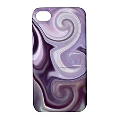 L164 Apple Iphone 4/4s Hardshell Case With Stand