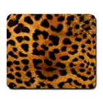 Leopard Print Large Mouse Pad (Rectangle) Front