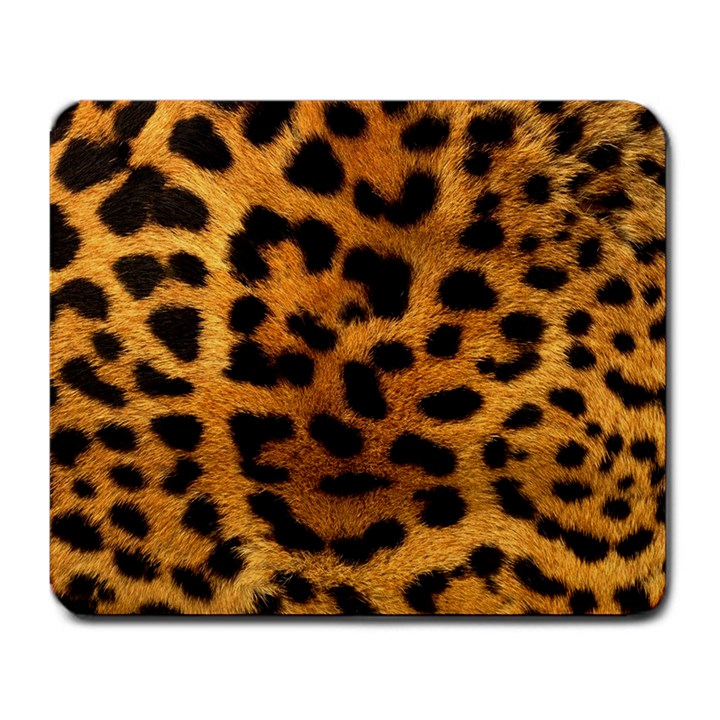 Leopard Print Large Mouse Pad (Rectangle)