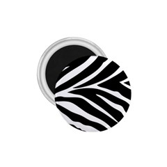 Black and white 1.75  Button Magnet