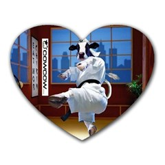 Cowcow Com Mouse Pad (heart)