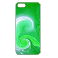 L174 Apple Seamless Iphone 5 Case (clear)