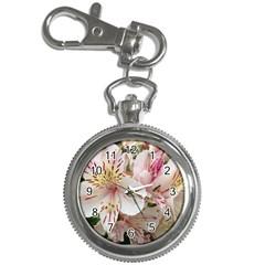 Flower Alstromeria Key Chain & Watch