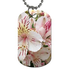 Flower Alstromeria Dog Tag (One Sided)