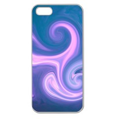 L176 Apple Seamless iPhone 5 Case (Clear)