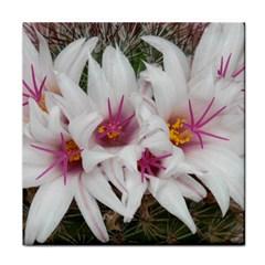Bloom Cactus  Ceramic Tile