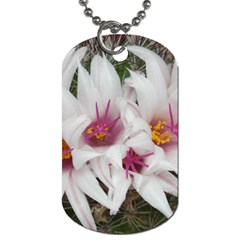 Bloom Cactus  Dog Tag (Two Sided)