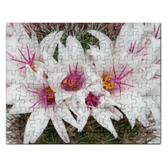 Bloom Cactus  Jigsaw Puzzle (Rectangle)
