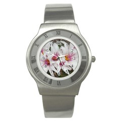 Bloom Cactus  Stainless Steel Watch (unisex)