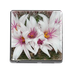 Bloom Cactus  Memory Card Reader with Storage (Square)