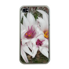 Bloom Cactus  Apple iPhone 4 Case (Clear)