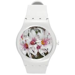 Bloom Cactus  Plastic Sport Watch (Medium)