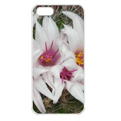 Bloom Cactus  Apple Iphone 5 Seamless Case (white)