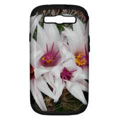 Bloom Cactus  Samsung Galaxy S Iii Hardshell Case (pc+silicone)