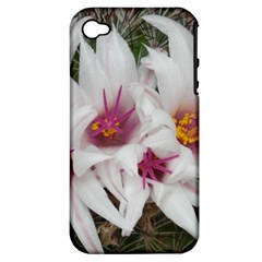 Bloom Cactus  Apple iPhone 4/4S Hardshell Case (PC+Silicone)
