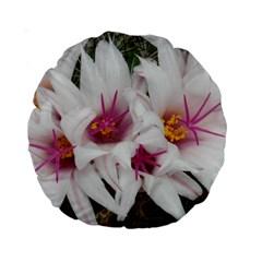 Bloom Cactus  15  Premium Round Cushion