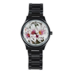 Bloom Cactus  Sport Metal Watch (Black)