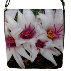 Bloom Cactus  Flap Closure Messenger Bag (small)