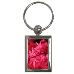 Red Autumn Key Chain (Rectangle)