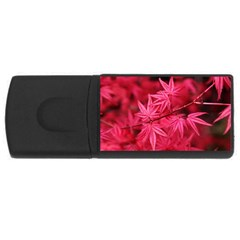 Red Autumn 1GB USB Flash Drive (Rectangle)