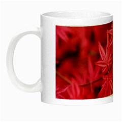 Red Autumn Glow in the Dark Mug